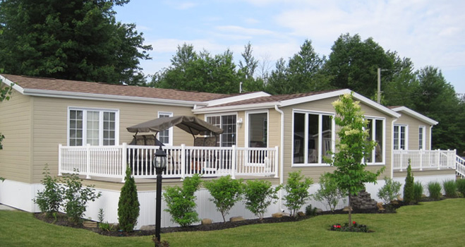 More than 75 modular homes !